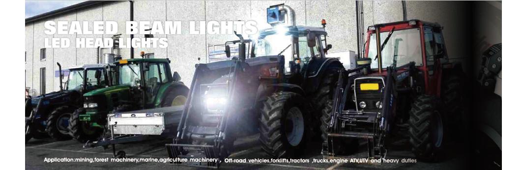 LED darbo žibintai
