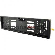 Vaizdo kamera su IR LED - automobilio valstybinio numerio rėmelis