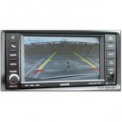 Vaizdo kamera su IR LED - automobilio valstybinio numerio rėmelis 3