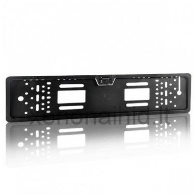 Vaizdo kamera su IR LED - automobilio valstybinio numerio rėmelis 4