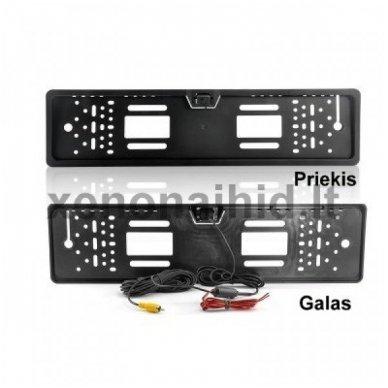 Vaizdo kamera su IR LED - automobilio valstybinio numerio rėmelis 9