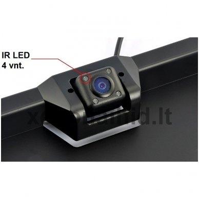 Vaizdo kamera su IR LED - automobilio valstybinio numerio rėmelis 5