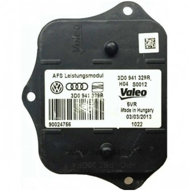 VALEO Audi VW AFS AHL žibinto valdymo blokas 3D0 941 329B / 3D0941329B / 90024756