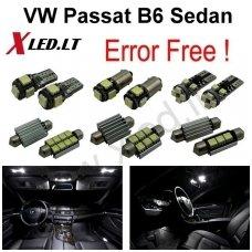 Volkswagen Passat B6 Sedan LED salono apšvietimo lempučių komplektas