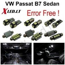 Volkswagen Passat B7 Sedan LED salono apšvietimo lempučių komplektas
