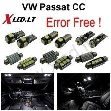 Volkswagen Passat CC LED salono apšvietimo lempučių komplektas