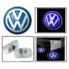 VOLKSWAGEN VW LED 3D originalus logotipas šešėlis į duris