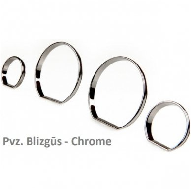 VOLKSWAGEN VW CHROME spidometro žiedai 4
