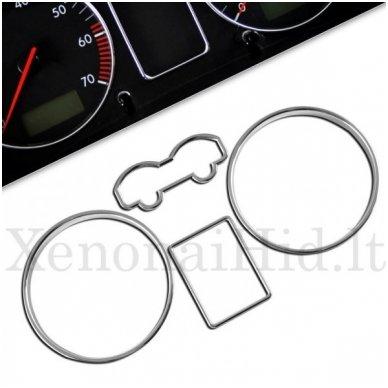 VOLKSWAGEN VW MATINIAI spidometro žiedai