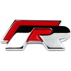 VW R-line klijuojama raudona emblema
