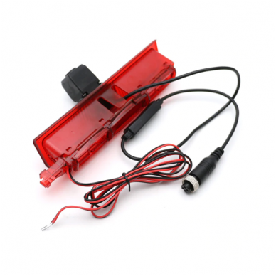 VW CADDY 2003-2015 galinio vaizdo kamera integruota stabdžio žibinte 2
