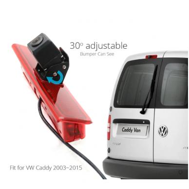 VW CADDY 2003-2015 galinio vaizdo kamera integruota stabdžio žibinte 3