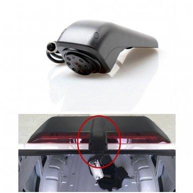 VW CRAFTER 2017+ galinio vaizdo kamera integruojama stabdžio žibinte 4