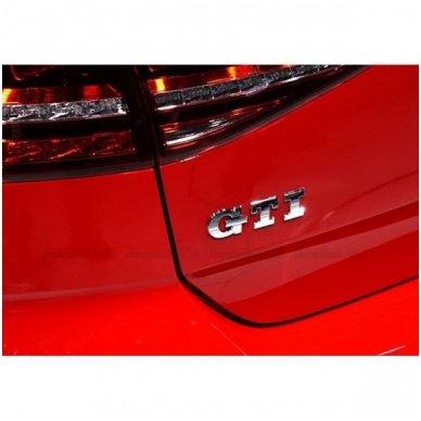 VW GTI pilkas lipdukas 2