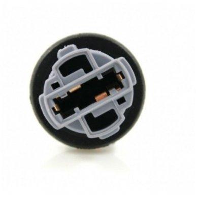 W21W / 7440 dviejų apatinių kontaktų lemputės jungtis tvirtinimas į žibintą 3