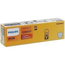 W5W/T10 PHILIPS Vision 12V 5W 12961CP halogeninė lemputė