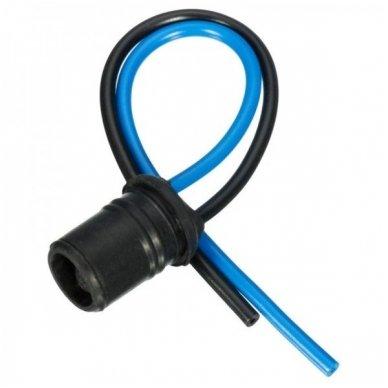 W5W / T10 lemputės jungtis universalus tvirtinimas į žibintą PVC minkštas 3