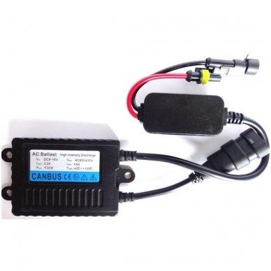XLED Xenon blokelis 24V 55W SLIM Skaitmeninis xenon lempučių blokelis