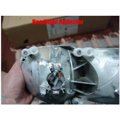 Xenon ir halogeninių linzių montavimo plokštė 4
