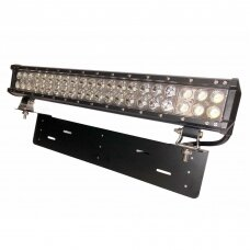 Komplektas XLED 126W LED BAR žibinto COMBO 51cm su laikikliu ir laidu