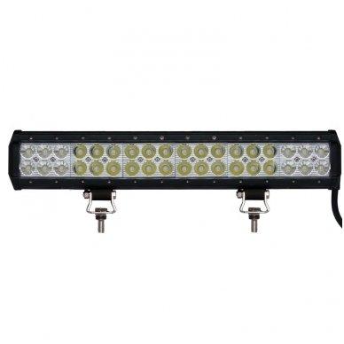 XLED 108W LED BAR žibintas apatinio tvirtinimo SIAURAS 44cm 2