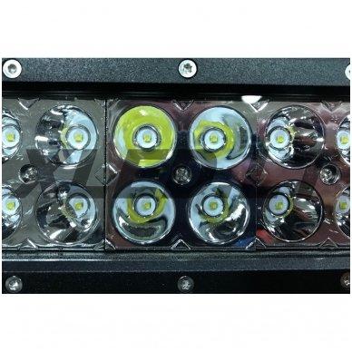 XLED 120W LED BAR žibintas šoninio tvirtinimo SIAURAS 56cm 8