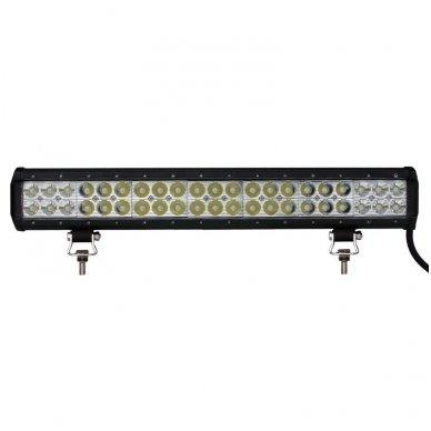 XLED 126W LED BAR žibintas apatinio tvirtinimo SIAURAS 51cm 2