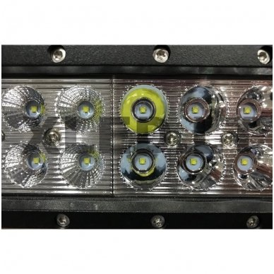 XLED 180W LED BAR žibintas apatinio tvirtinimo COMBO 71cm 4