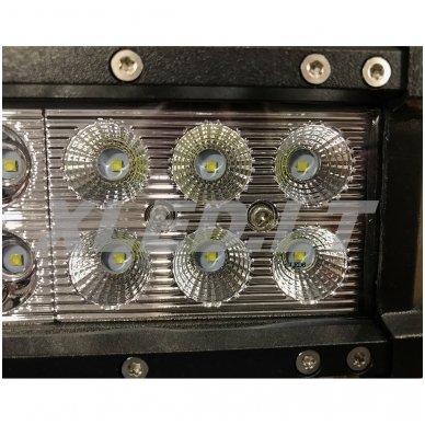 XLED 36W LED BAR žibintas apatinio tvirtinimo PLATUS 16cm 9