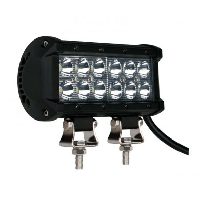 XLED 36W LED BAR žibintas apatinio tvirtinimo SIAURAS 16cm 3