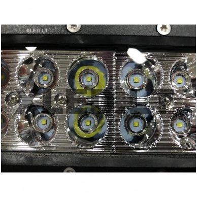 XLED 36W LED BAR žibintas apatinio tvirtinimo SIAURAS 16cm 8