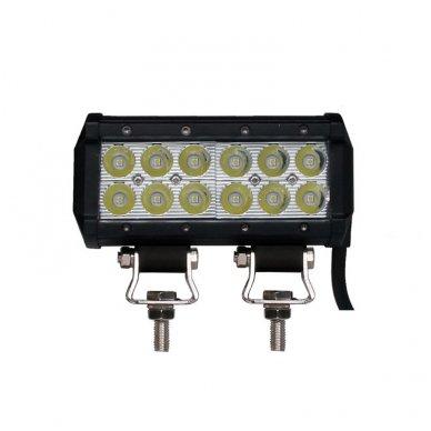 XLED 36W LED BAR žibintas apatinio tvirtinimo SIAURAS 16cm 2