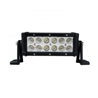 XLED 36W LED BAR žibintas šoninio tvirtinimo SIAURAS 21cm 2