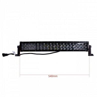 XLED 4D 120W lenktas OSRAM-CRD LED žibintas COMBO 56cm 7