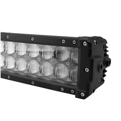XLED 4D 288W lenktas OSRAM-CRD LED žibintas COMBO 126cm 4