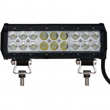 XLED 54W LED BAR žibintas apatinio tvirtinimo COMBO 23cm 2