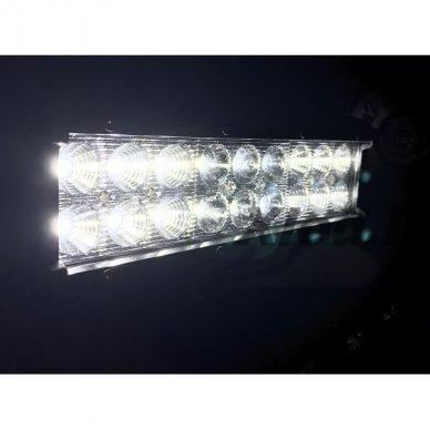 XLED 54W LED BAR žibintas apatinio tvirtinimo COMBO 23cm 14