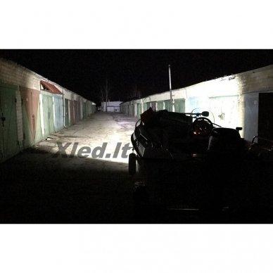 XLED 54W LED BAR žibintas apatinio tvirtinimo COMBO 23cm 11