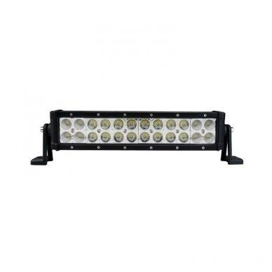 XLED 72W LED BAR žibintas šoninio tvirtinimo SIAURAS 36cm 2