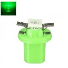 Žalia led B8.5D 1led smd spidometro, prietaisų skydelio lemputė